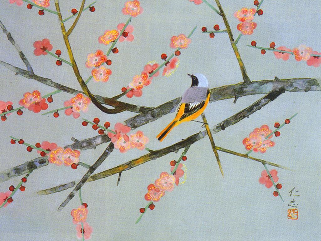 壁紙 日本画023